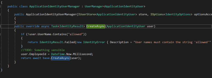 Hooking into the registration process allows for customisation, and integration with other parts of the system