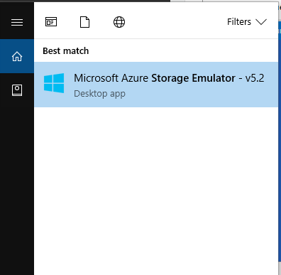 robertwray co uk - Using the Azure Storage Emulator