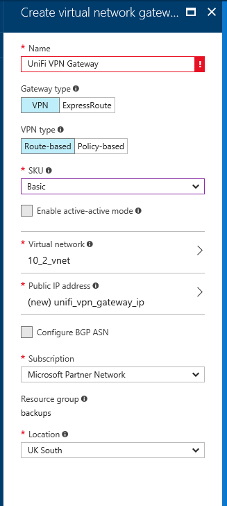 robertwray co uk - Creating a site-to-site VPN between Azure