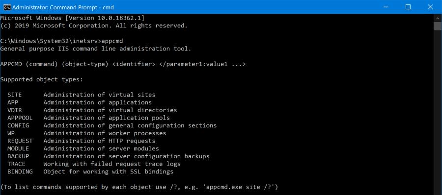 robertwray co uk - Updating IIS application pools using appcmd