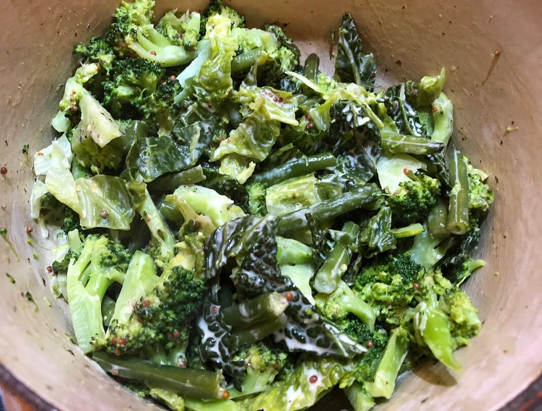 Braised greens